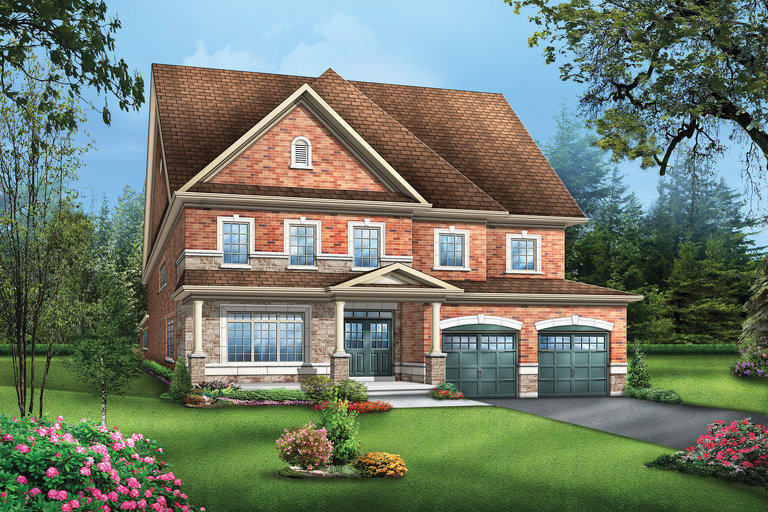 Colton1 floor plan at Vales of the Humber by Greenpark in Brampton, Ontario