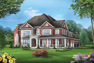 The Colton 15 new home model plan at the Vales of the Humber by Greenpark in Brampton