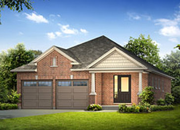 The Brookfield new home model plan at the Noble Ridge by Reid Homes in Rockwood