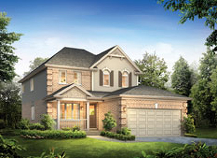Rosseau floor plan at Noble Ridge by Reid Homes in Rockwood, Ontario