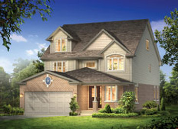 The Waverly new home model plan at the Noble Ridge by Reid Homes in Rockwood