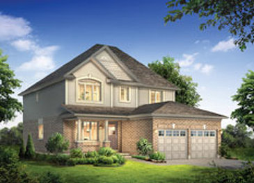 The Muskoka new home model plan at the Noble Ridge by Reid Homes in Rockwood