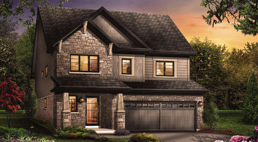 The Conquest new home model plan at the Victory by Empire Communities in Stoney Creek