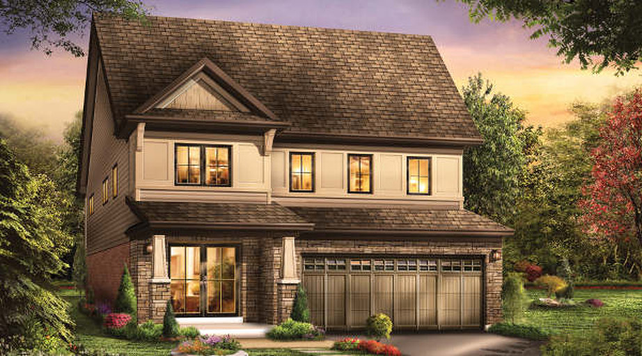 Triumph floor plan at Victory by Empire Communities in Stoney Creek, Ontario