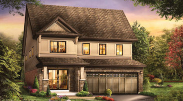 The Triumph new home model plan at the Victory by Empire Communities in Stoney Creek