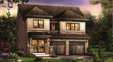 The Excellence new home model plan at the Victory by Empire Communities in Stoney Creek