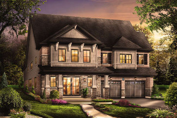 The Victor new home model plan at the Victory by Empire Communities in Stoney Creek