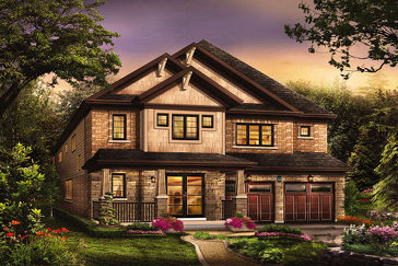 The Achievement new home model plan at the Victory by Empire Communities in Stoney Creek
