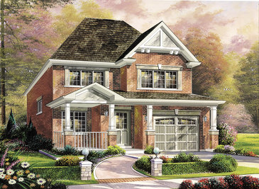 The Mckenzie new home model plan at the Summerlea by Empire Communities in Binbrook