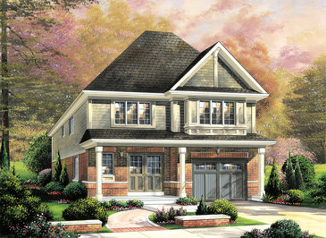 The Greenwich new home model plan at the Summerlea by Empire Communities in Binbrook