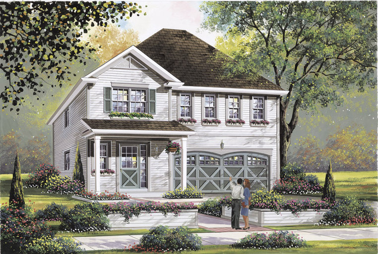 Flamingo floor plan at Summerlea by Empire Communities in Binbrook, Ontario