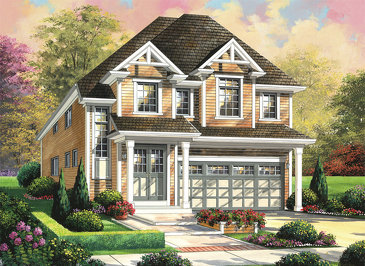 The Bristol new home model plan at the Summerlea by Empire Communities in Binbrook
