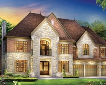 The Buckingham new home model plan at the Estates of West River Valley by Royal Pine Homes in Brampton