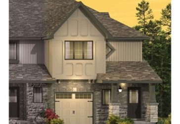 The Hosta new home model plan at the Saginaw Woods by Granite Homes in Cambridge