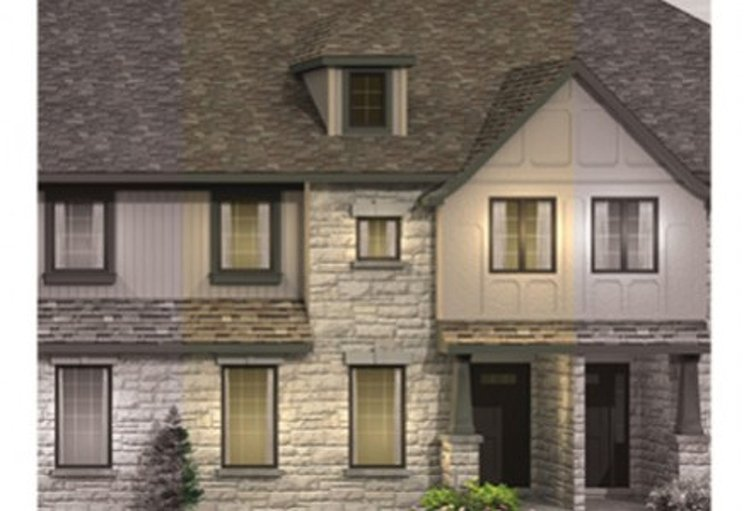 Lily floor plan at Saginaw Woods by Granite Homes in Cambridge, Ontario