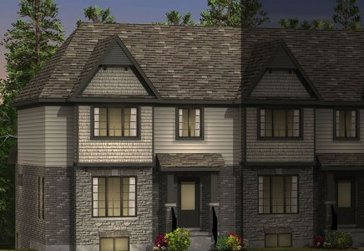 The Westmount new home model plan at the The Highlands by Granite Homes in Guelph