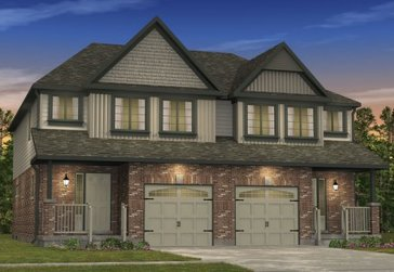 The Rosewood new home model plan at the Morning Crest by Granite Homes in Guelph