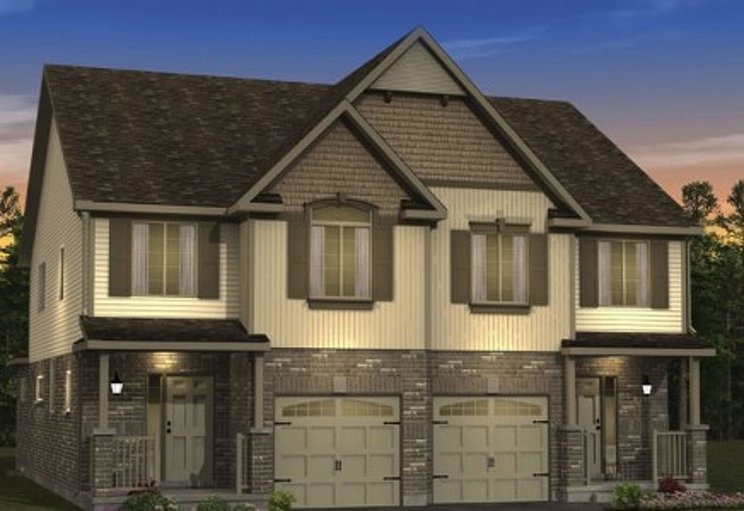 Hickory floor plan at Morning Crest by Granite Homes in Guelph, Ontario