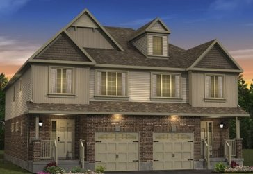 The Ironwood new home model plan at the Morning Crest by Granite Homes in Guelph
