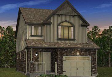 The Silverbell new home model plan at the Morning Crest by Granite Homes in Guelph