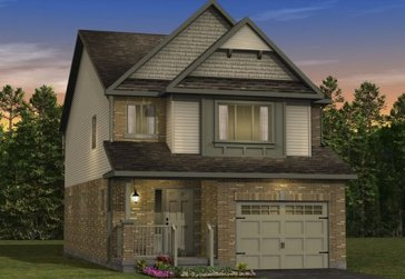 The Birch new home model plan at the Morning Crest by Granite Homes in Guelph