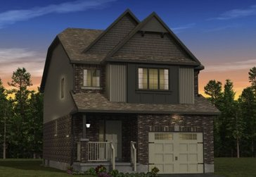The Poplar new home model plan at the Morning Crest by Granite Homes in Guelph