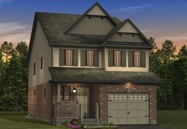 The Aspen new home model plan at the Morning Crest by Granite Homes in Guelph