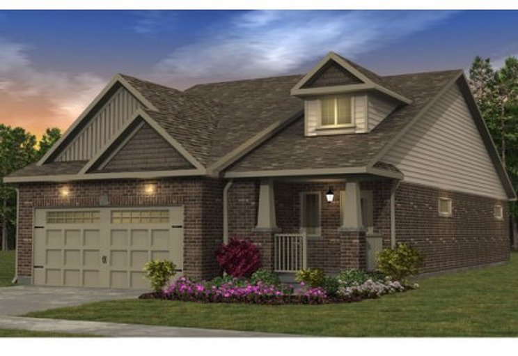 Alder floor plan at Morning Crest by Granite Homes in Guelph, Ontario