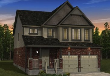 The Mulberry new home model plan at the Morning Crest by Granite Homes in Guelph