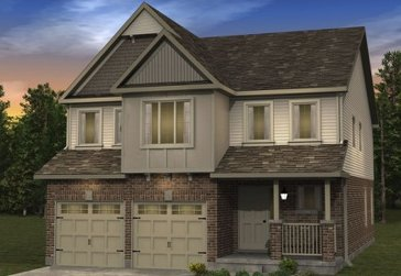 The Primrose new home model plan at the Morning Crest by Granite Homes in Guelph