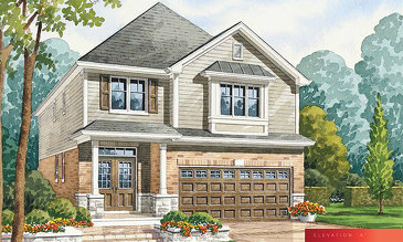 The Tango A new home model plan at the The Fairgrounds by Branthaven Homes in Binbrook