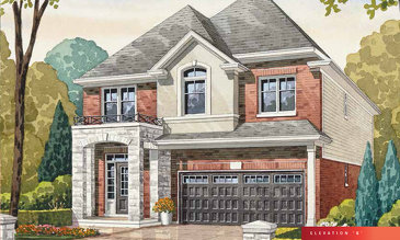 The Vivid A new home model plan at the The Fairgrounds by Branthaven Homes in Binbrook