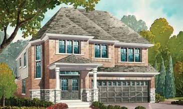 The Eagle new home model plan at the Nestings by Branthaven Homes in Kitchener