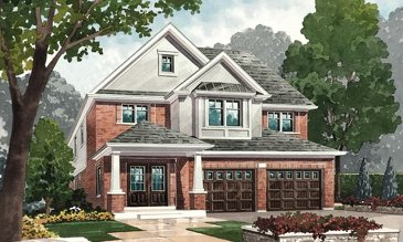 The Cooper's Hawk new home model plan at the Nestings by Branthaven Homes in Kitchener