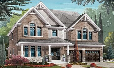 The Riverbank new home model plan at the Nestings by Branthaven Homes in Kitchener