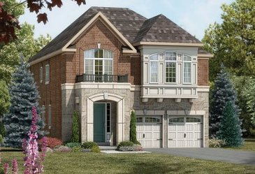 The ValleyLands 8 new home model plan at the ValleyLands (OH) by Opus Homes in Brampton
