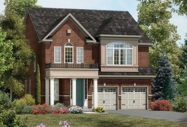 The ValleyLands 7 new home model plan at the ValleyLands (OH) by Opus Homes in Brampton