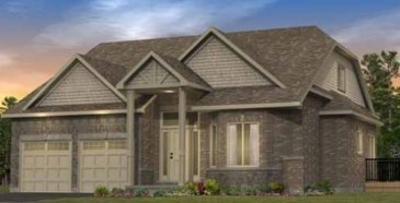 The Valencia C (Single Detached) new home model plan at the Legacy Pines by Ashton Ridge Homes in Caledon