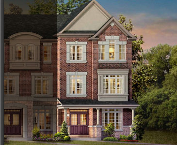 The Beech new home model plan at the The Preserve by The Remington Group in Oakville