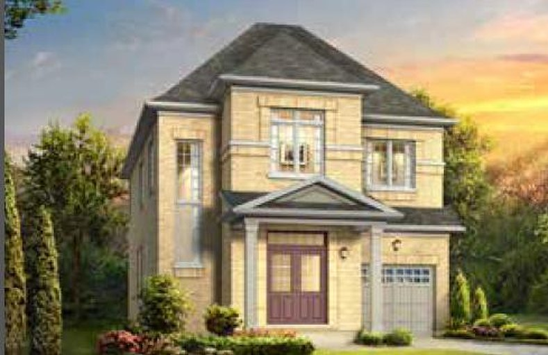 Pine floor plan at The Preserve by The Remington Group in Oakville, Ontario