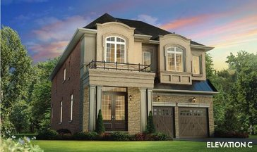 The Degree (elevation C) new home model plan at the Thornhill North by The Remington Group in Thornhill