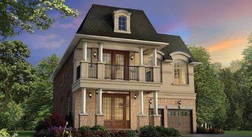 The Magellan new home model plan at the Thornhill North by The Remington Group in Thornhill