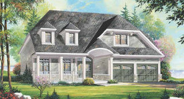 The Tempest new home model plan at the Captain's Cove by The Remington Group in Midland
