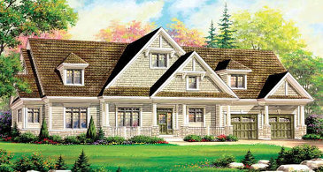 The Victoria new home model plan at the Captain's Cove by The Remington Group in Midland