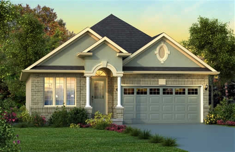 Norfolk floor plan at Penny Lane Estates by Landmart in Stoney Creek, Ontario