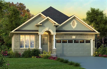 The Norfolk new home model plan at the Penny Lane Estates by Landmart in Stoney Creek