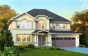 The Doyle new home model plan at the Penny Lane Estates by Landmart in Stoney Creek
