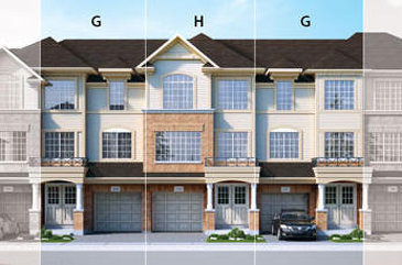 The Andrew new home model plan at the Penny Lane Estates by Landmart in Stoney Creek