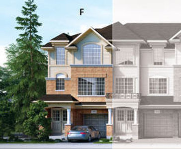 The Charles new home model plan at the Penny Lane Estates by Landmart in Stoney Creek
