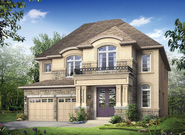 The Jackson new home model plan at the Victoria Highlands by Rosehaven Homes in Mount Albert